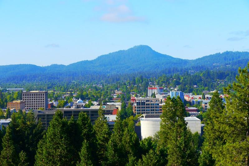 Eugene, Oregon trip from Portland